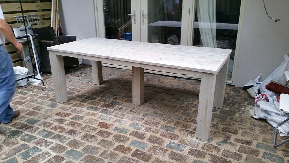 Tafel Voor Buiten : Steigerhouten tafel buiten u bouwbedrijf sterk u een andere