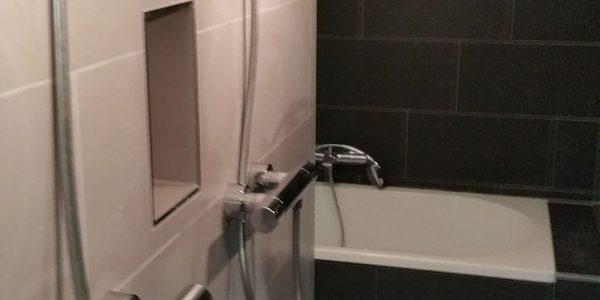 Badkamer op woonboot