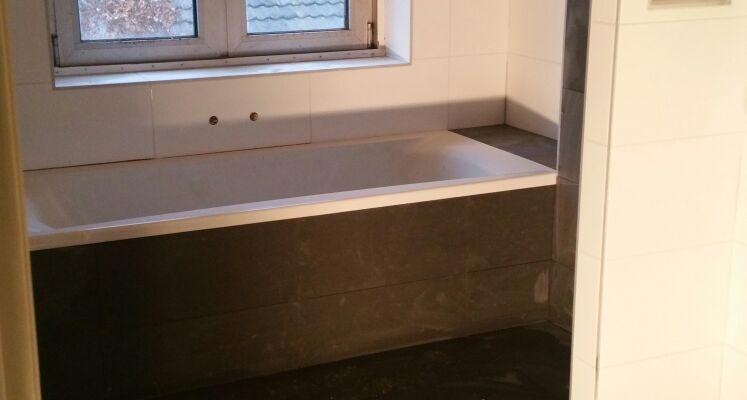 Badkamer – Bouwbedrijf Sterk – Een andere aannemer?…… Lijkt mij Sterk!