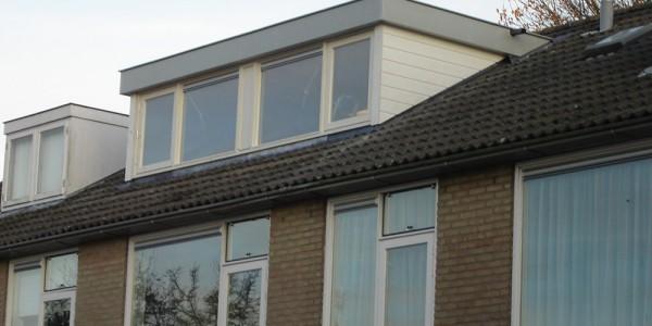 Dakkapel plat dak te Hilversum