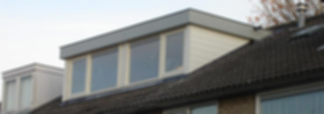 Dakkapel plat dak te Hilversum vaag